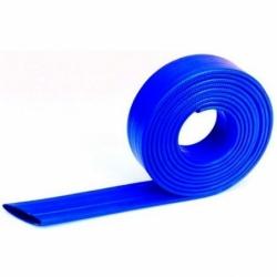 Manguera Standard Tipo Bombero Azul, Lay Flat