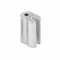 Conector Aluminio ranurado 2,5mm (50u) cerco eléctrico