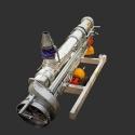 Malla galvanizada 200cm 21h 100x50 2,50mm x 30m