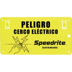 Letrero Peligro Cerco Electrico