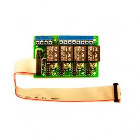 Indicador de voltaje con luces para cerco eléctrico